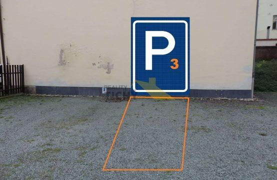 Pronájem parkovacího místa č. 3 v centru Náchoda
