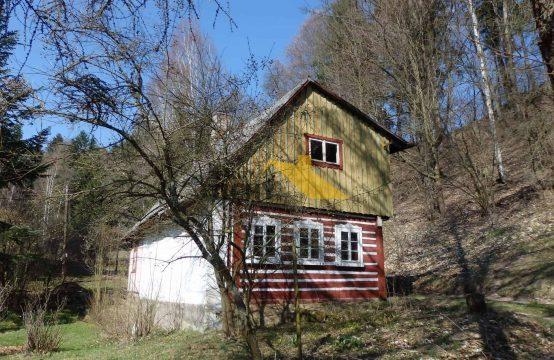 Prodej, pěkná poloroubená chalupa Teplice nad Metují &#8211&#x3B; REZERVACE