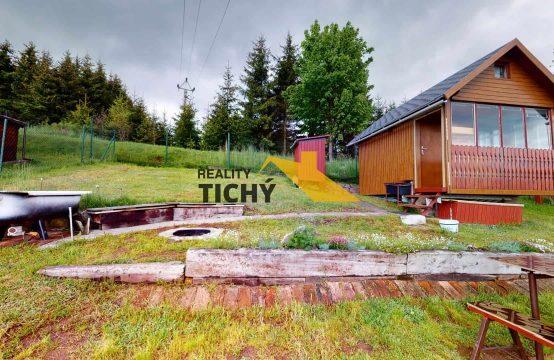 Prodej, pěkná chata se zahradou Velký Dřevíč – PRODÁNO
