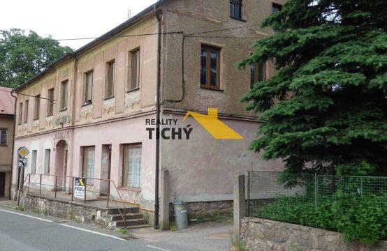 Prodej, velký dům – 4 byty + nebytové prostory, pěkná zahrada Česká Čermná – NOVINKA